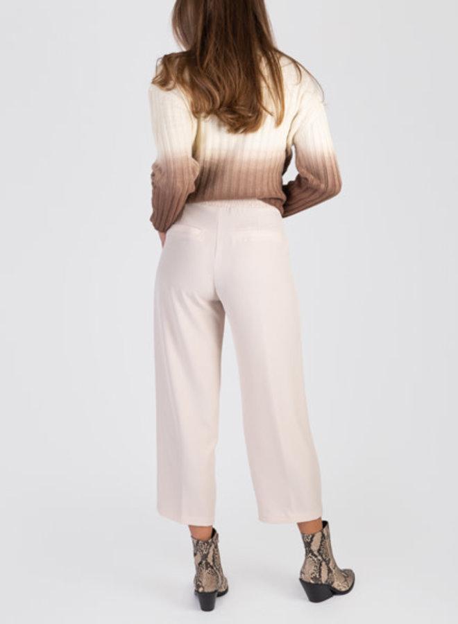 Wide culotte pants