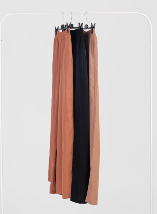 Pants basic with stretch band