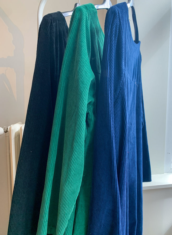 Long dress corduroy