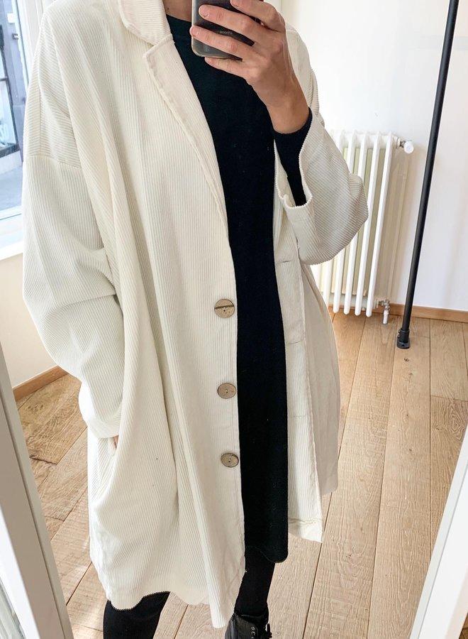 Long corduroy jacket