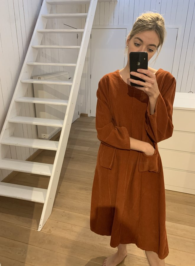 Dress Sab corduroy