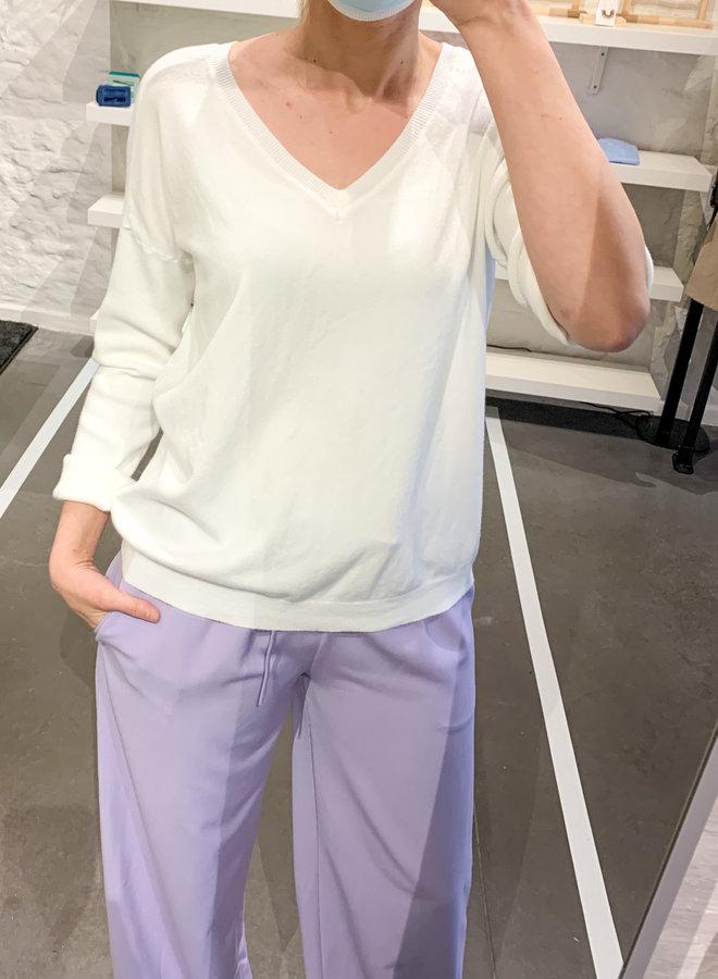 V basic trui (+kleuren)
