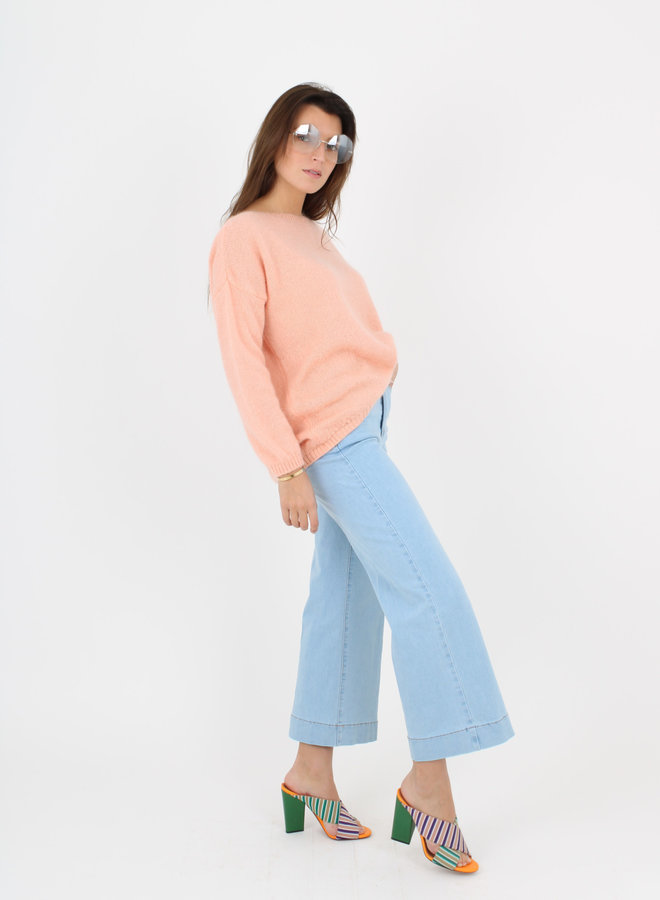 RE-STOCK soon Jeans Cropped wide leg (+color)