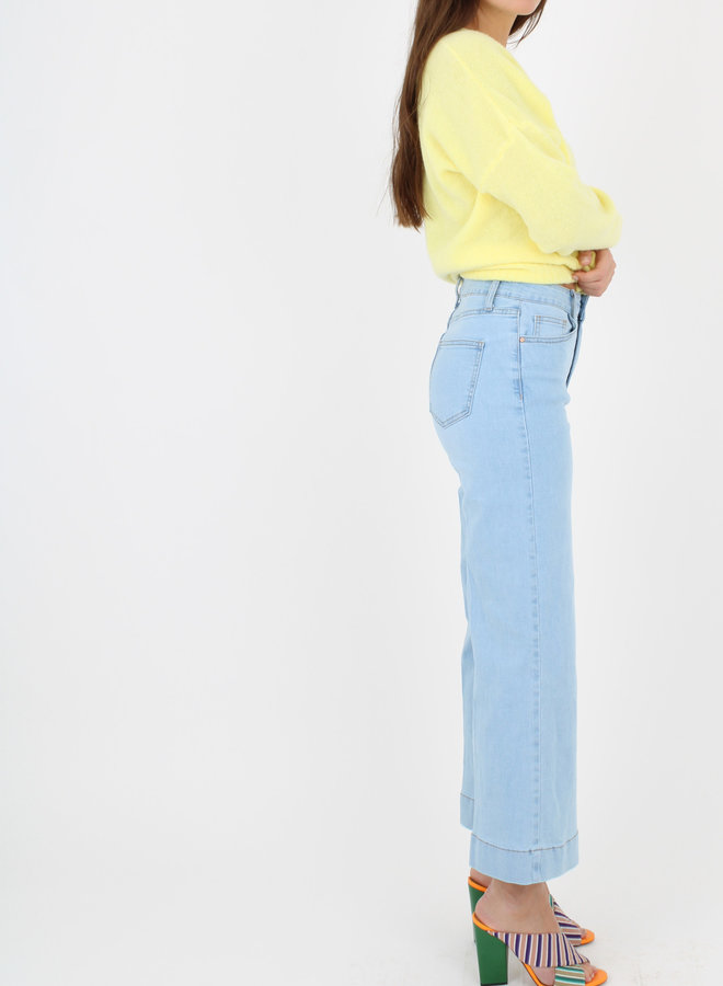 Jeans Cropped wide leg