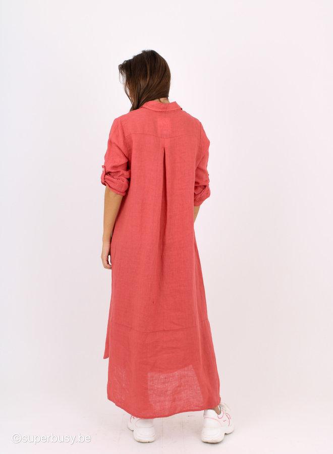 Dress Linen buttons