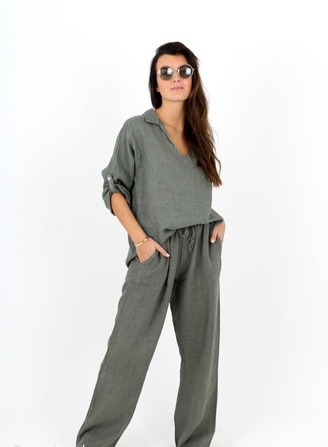 Trouser Linen Happy