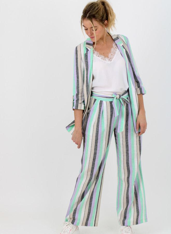 Trouser suit linen (+colors)