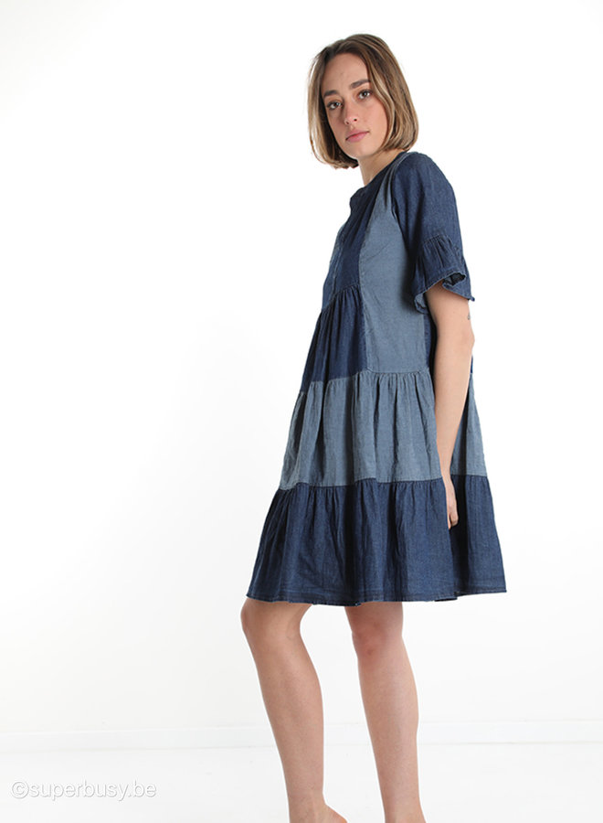Dress duo denim