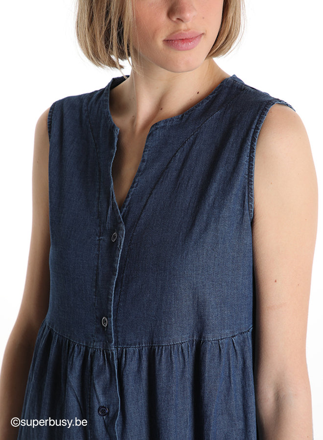 Shirt dress denim