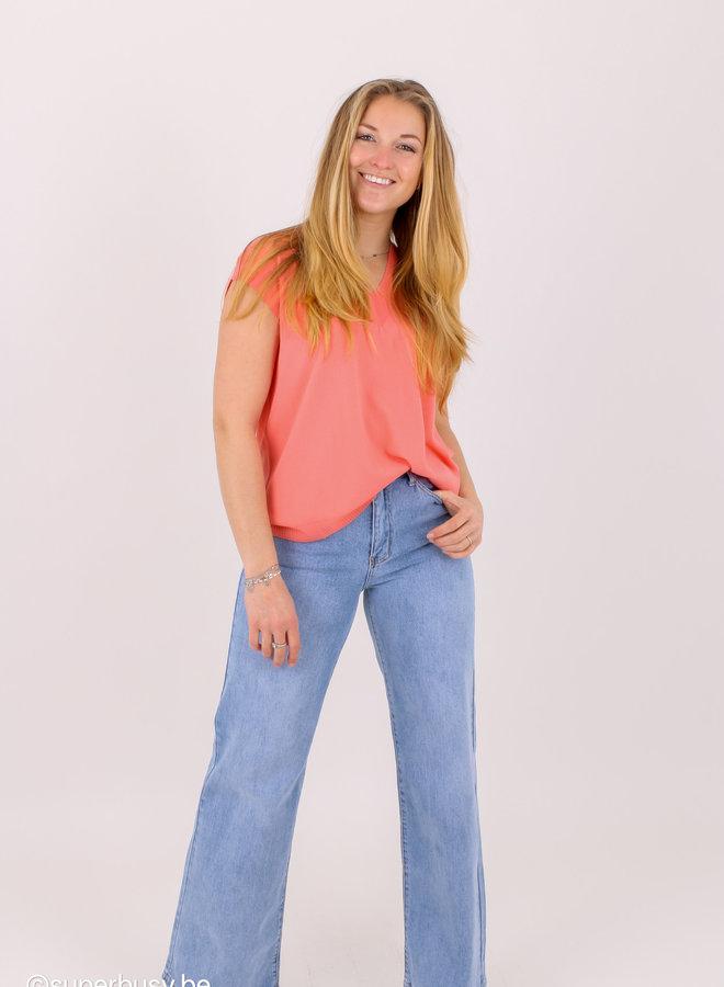 Jeans Hight waist/wide leg