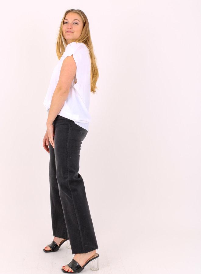 Jeans black high waist