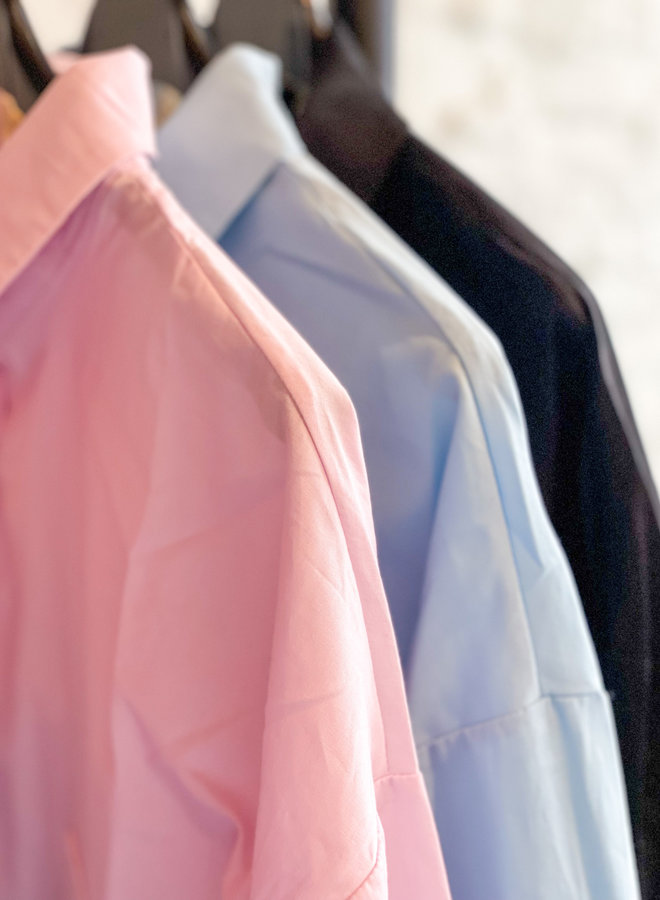 Shirt dress poff