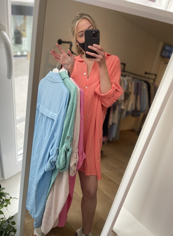 Tetra shirt dress or blouse