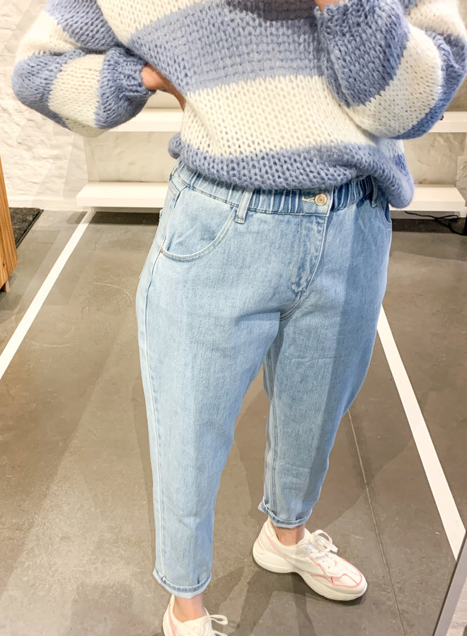 Paper bag Jeans high waist