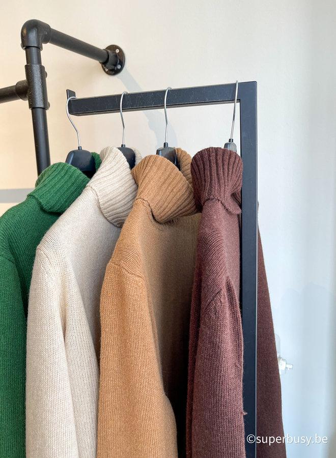 Col jumper blend cashmere