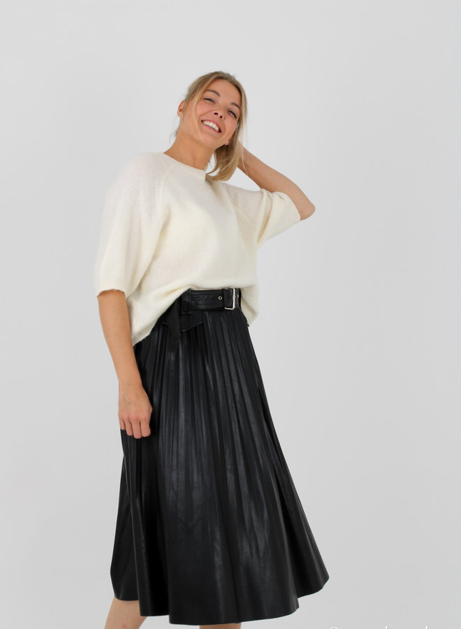 Skirt faux leather Lili