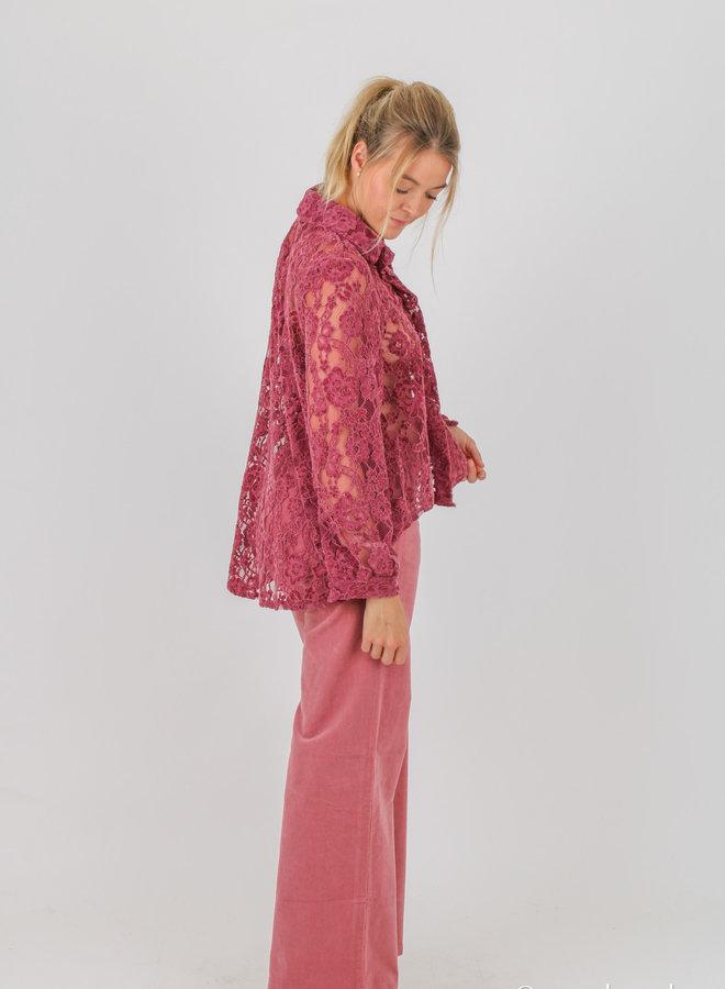 Lace blouse +colors