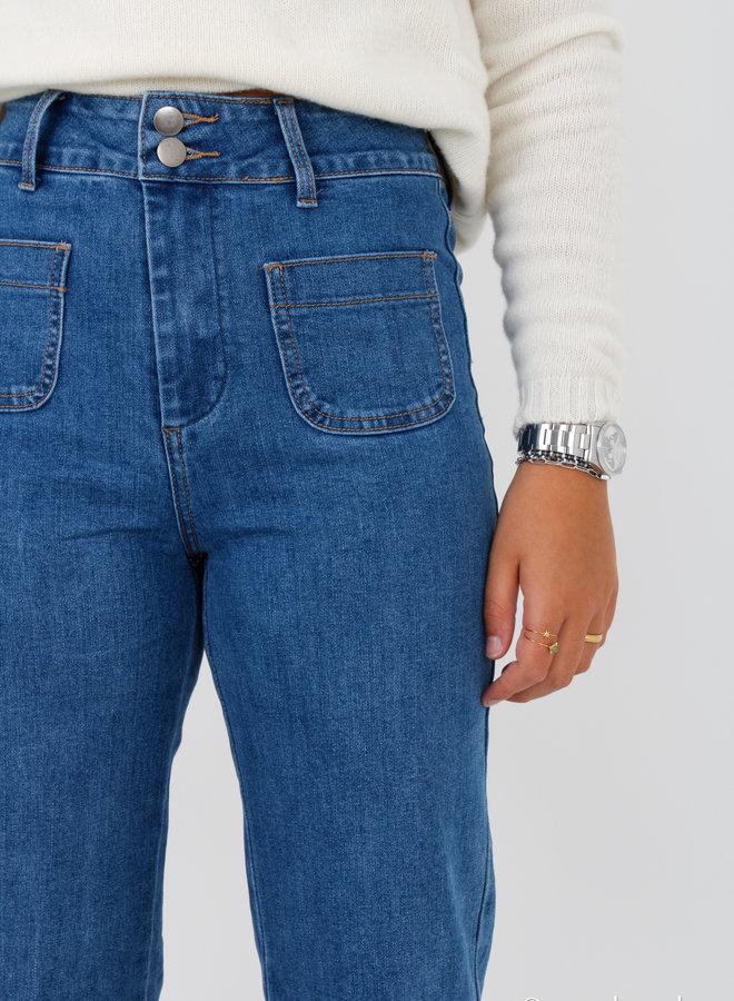 Jeans pocket flair