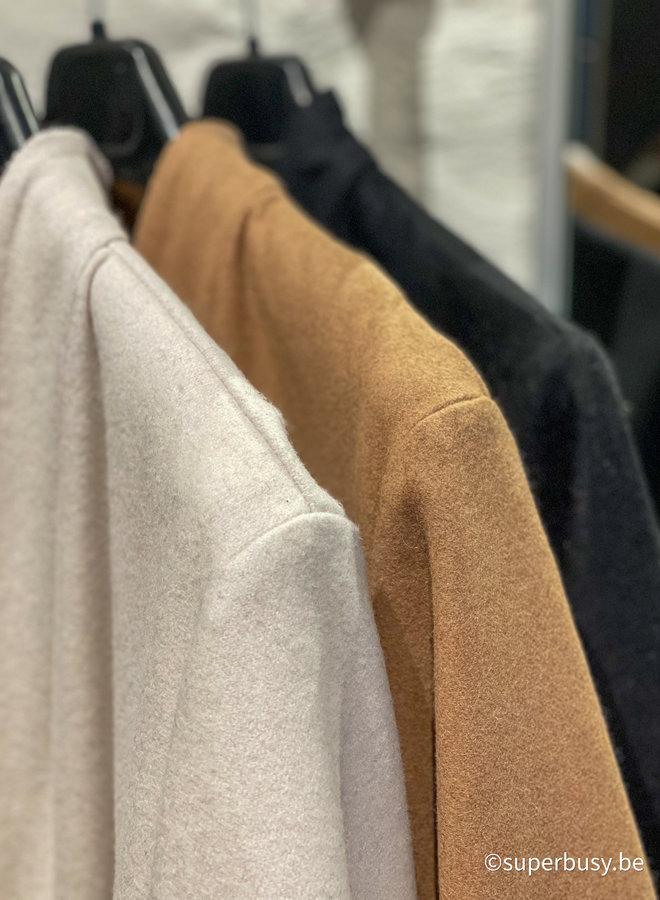 Coat mix Cashmere & wol