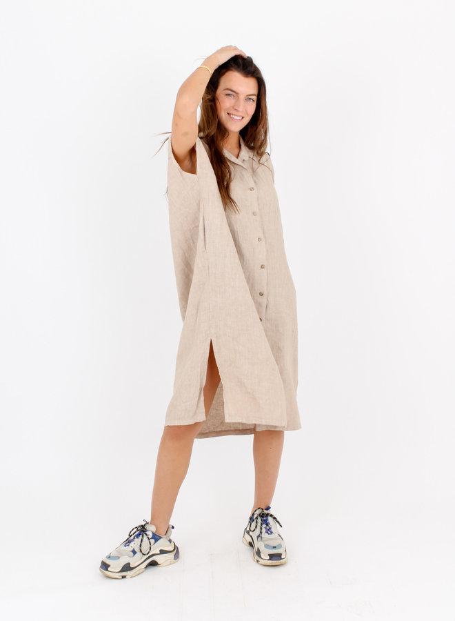 Dress Pure Linen Ini