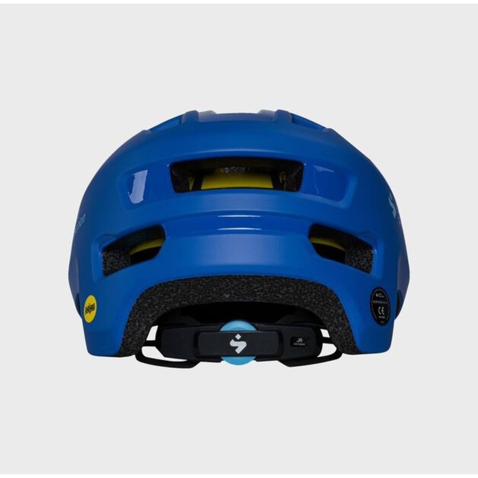 Sweet Protection Sweet Protection Ripper MIPS JR Helmet - Matt Race Blue 48/53
