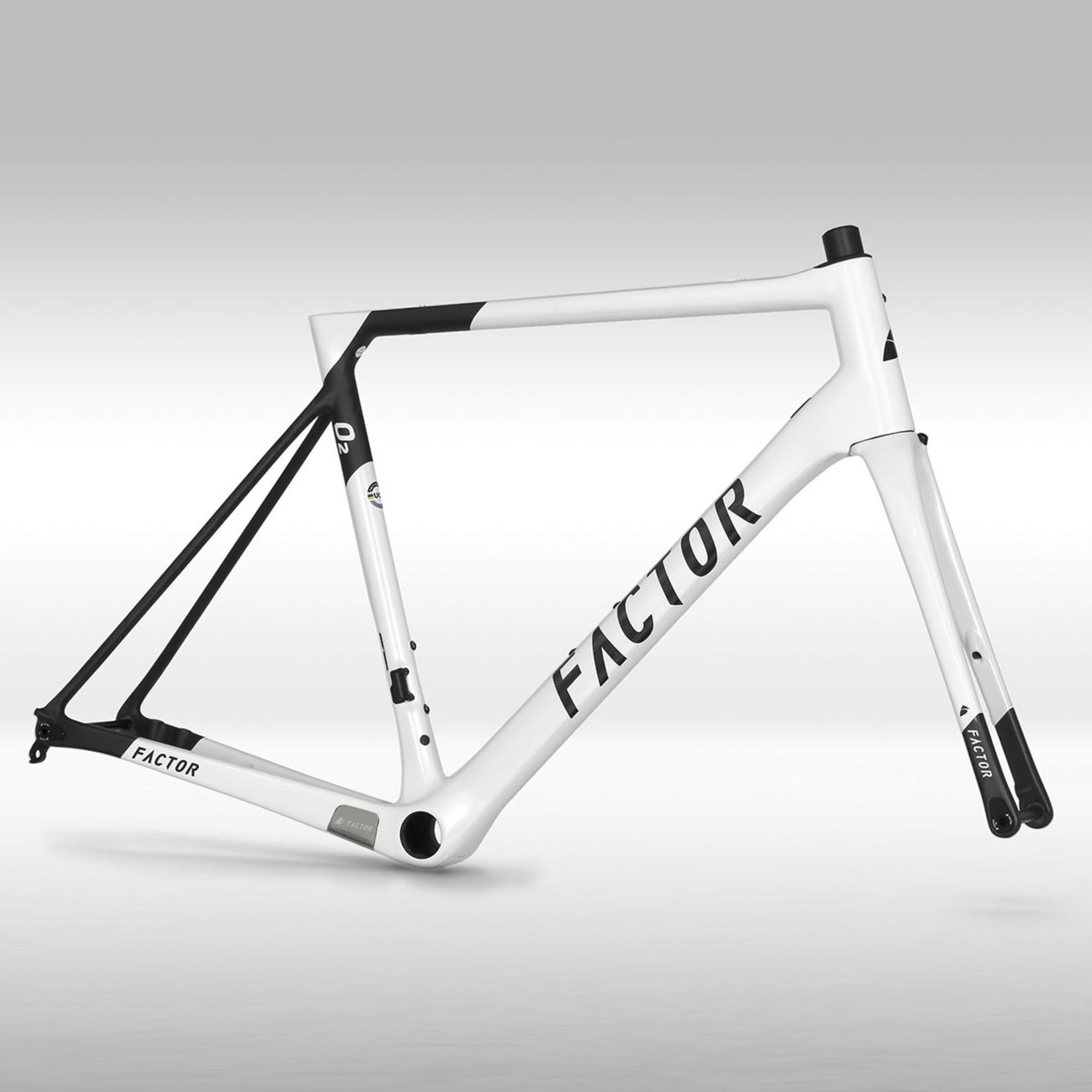 Factor Factor O2 Frameset - Pearl White - 58