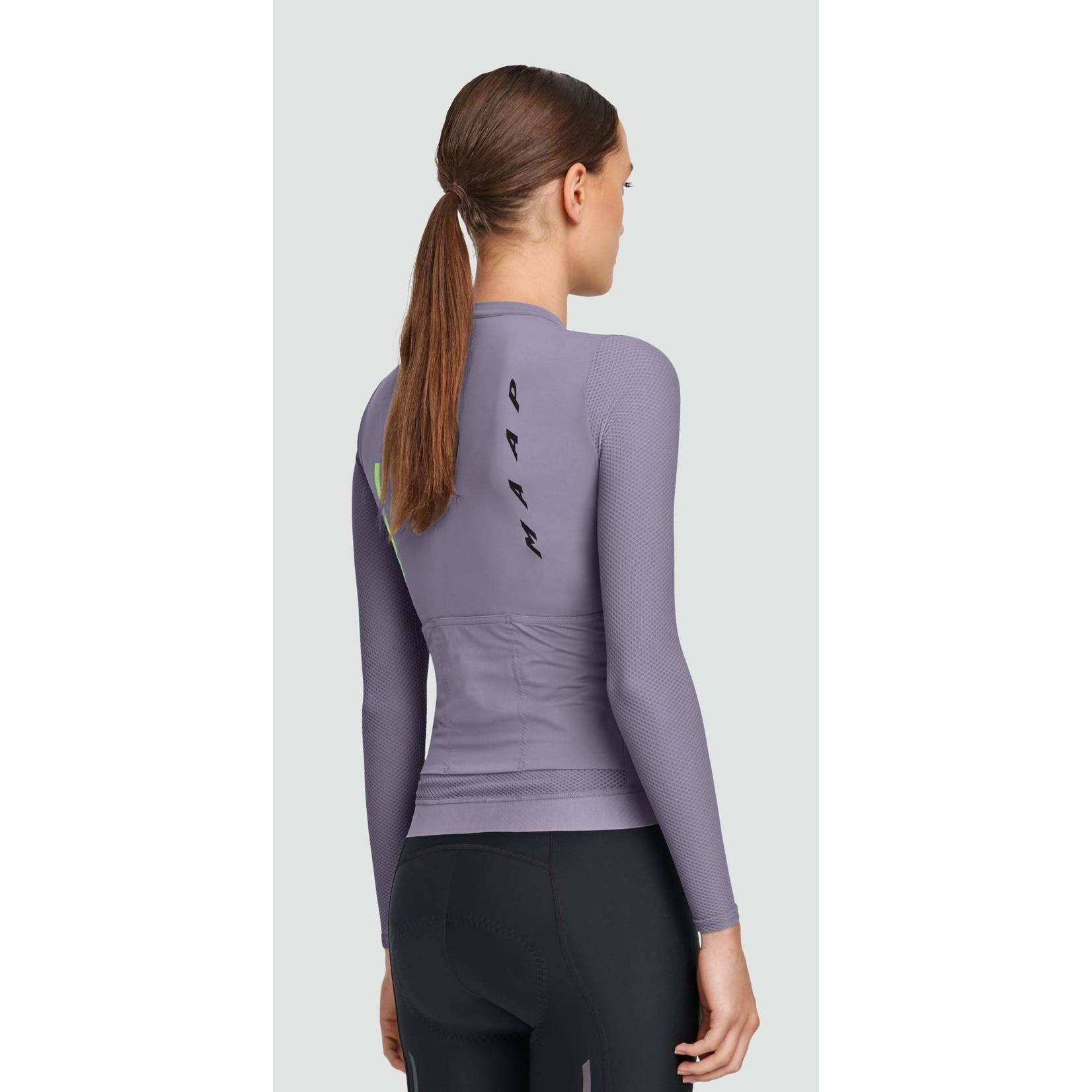 Maap MAAP Women Evade Pro Base Long Sleeve Jersey - Purple Ash