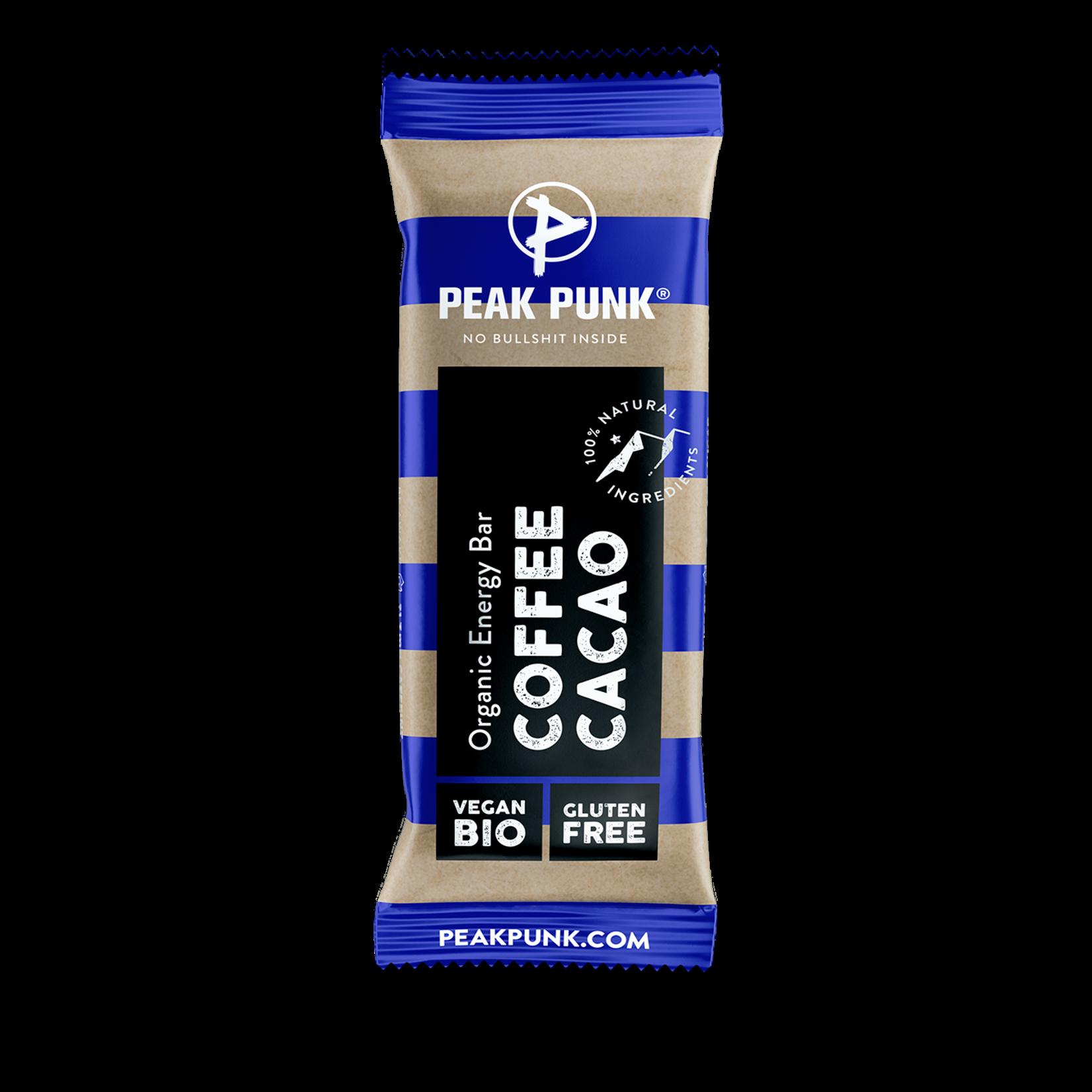 Peak Punk Peak Punk - Energy Bar - Coffee & Cacao, 38g