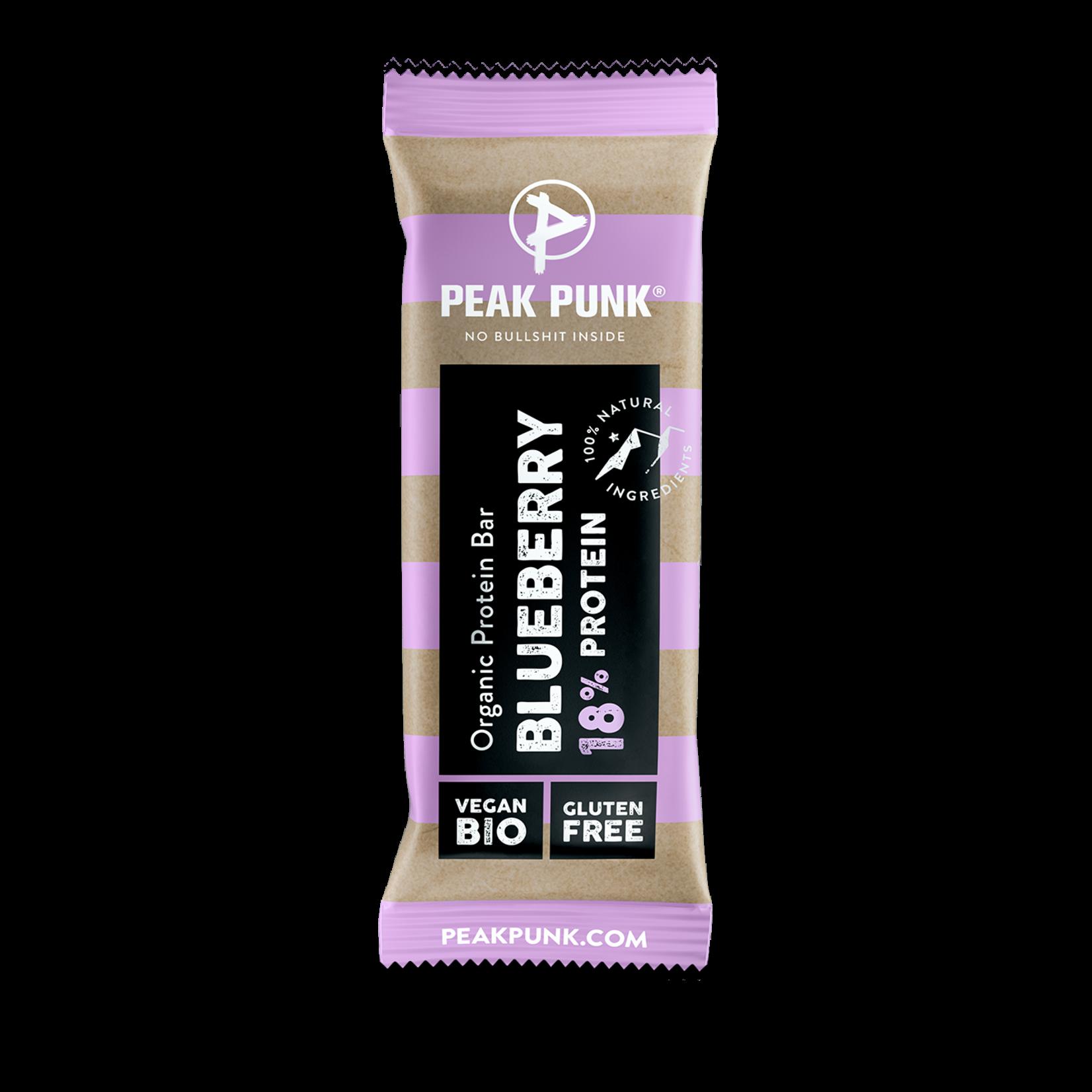 Peak Punk Peak Punk - Protein Bar - Blueberry, 38g