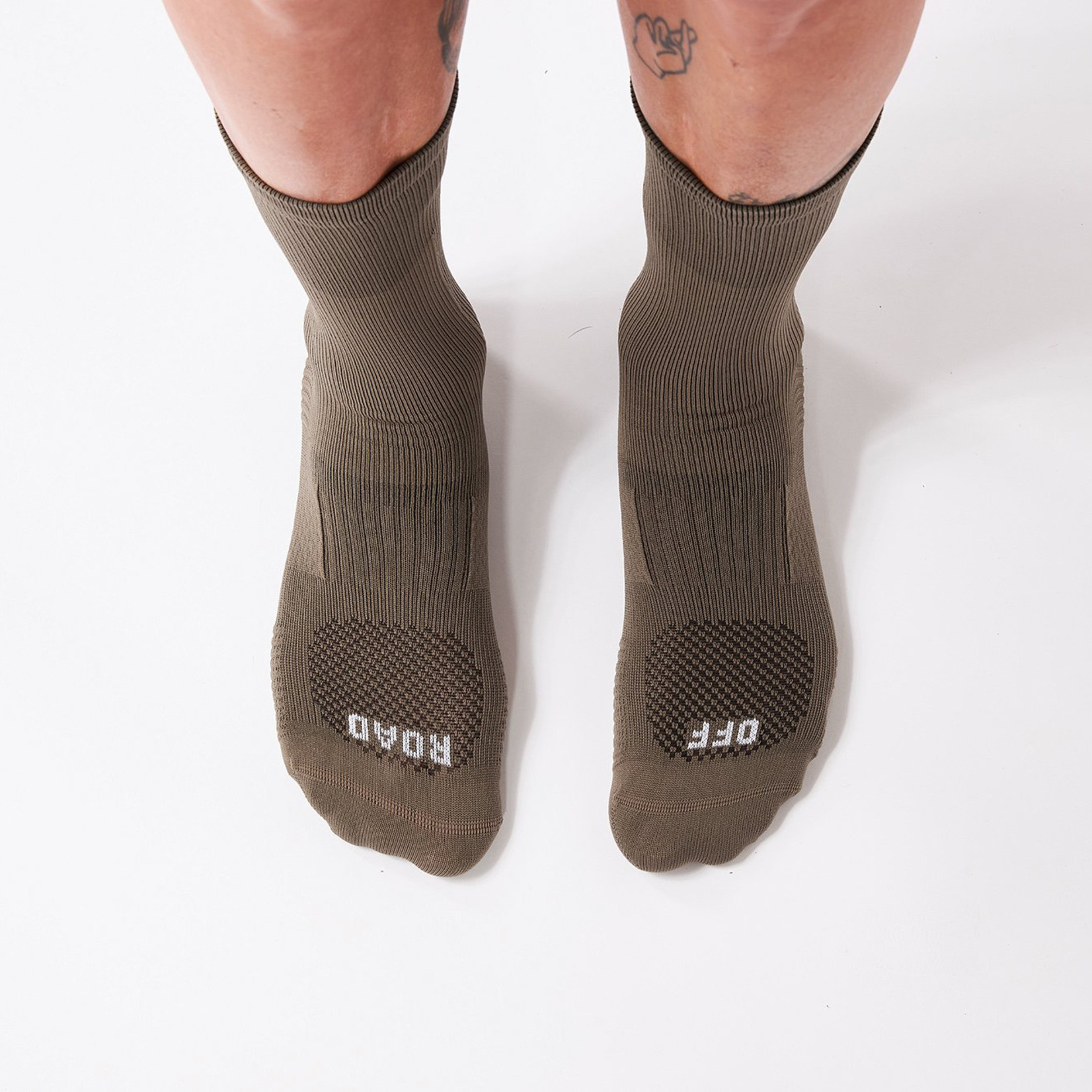 Fingerscrossed FINGERSCROSSED Off Road Socks - Walnut