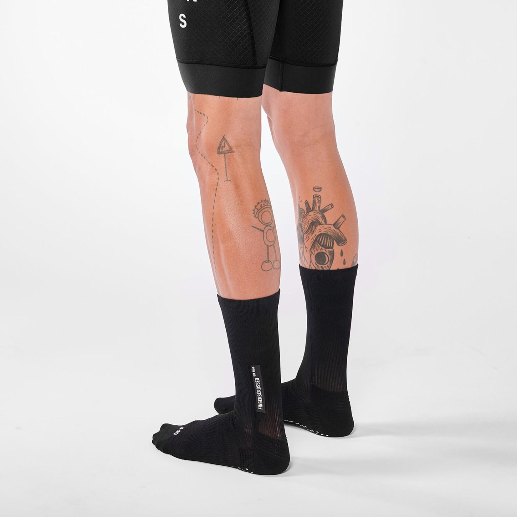 Fingerscrossed FINGERSCROSSED Off Road Socks - Black