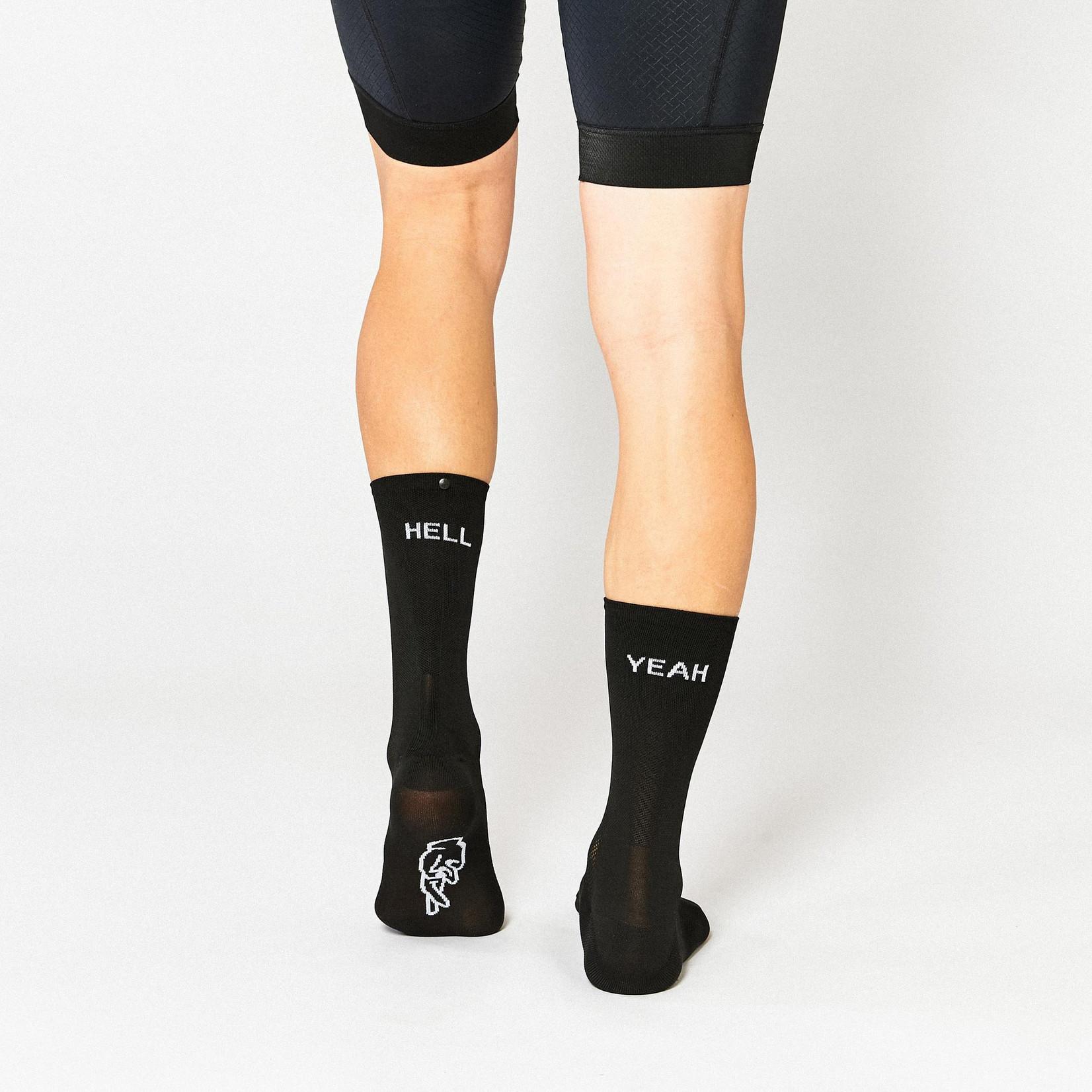 Fingerscrossed FINGERSCROSSED Socks - Hell Yeah 1.0 Black