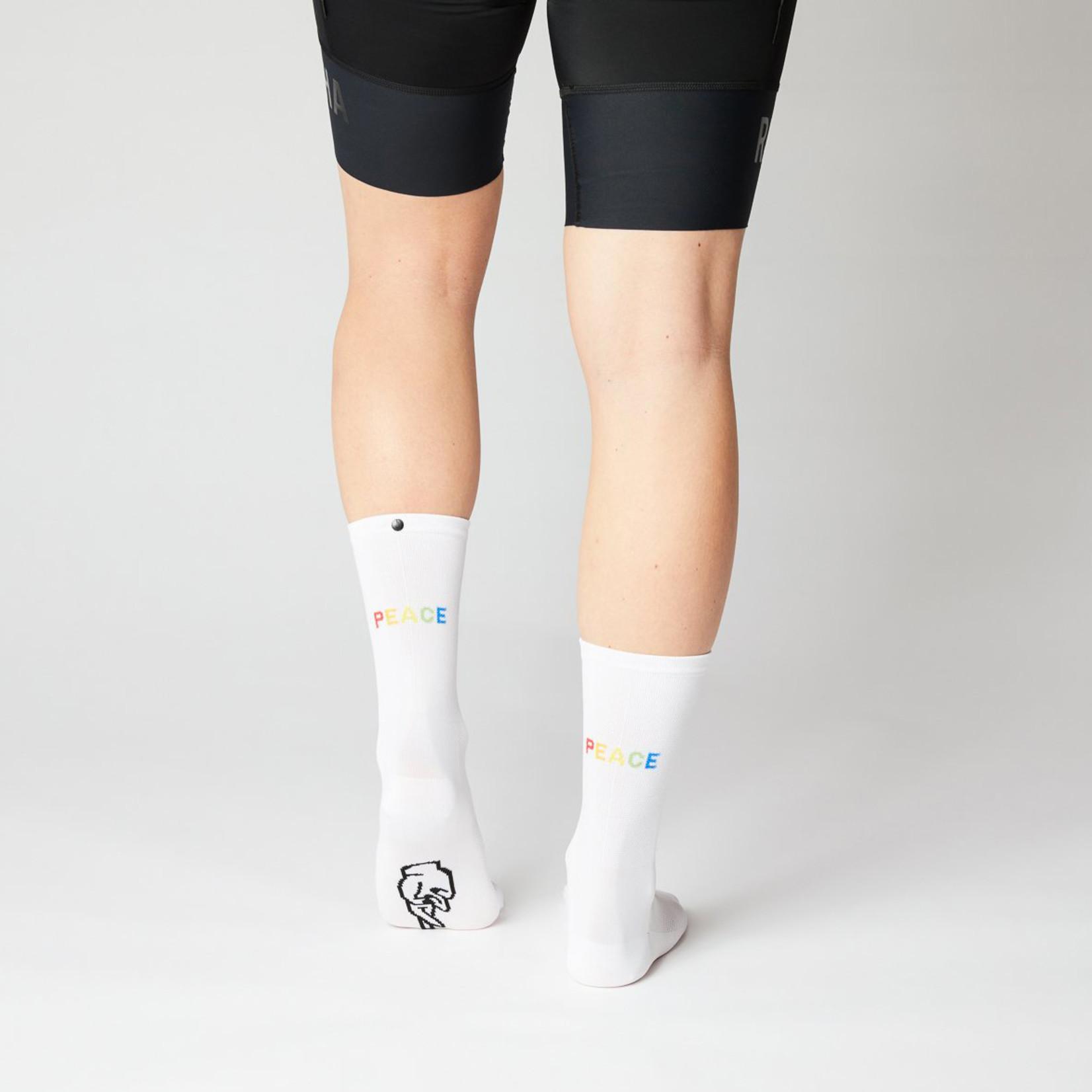 Fingerscrossed FINGERSCROSSED Socks - Rolling Harmony White