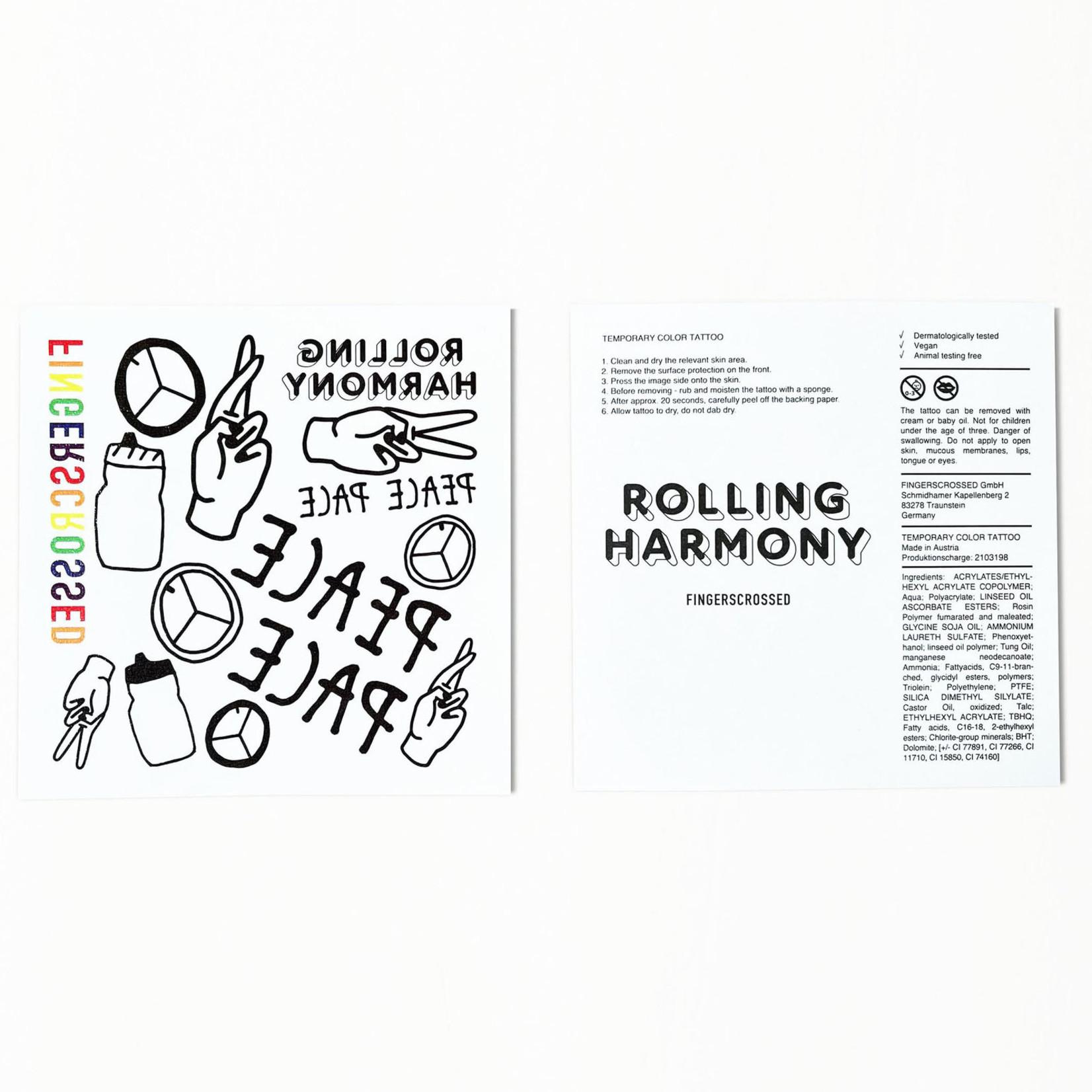 Fingerscrossed FINGERSCROSSED Socks - Rolling Harmony Ringlet