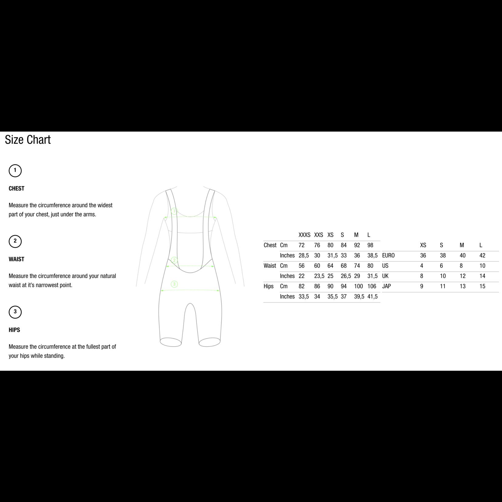 Q36.5 Q36.5 Women Long Sleeve Jersey L1 Pinstripe X - Black