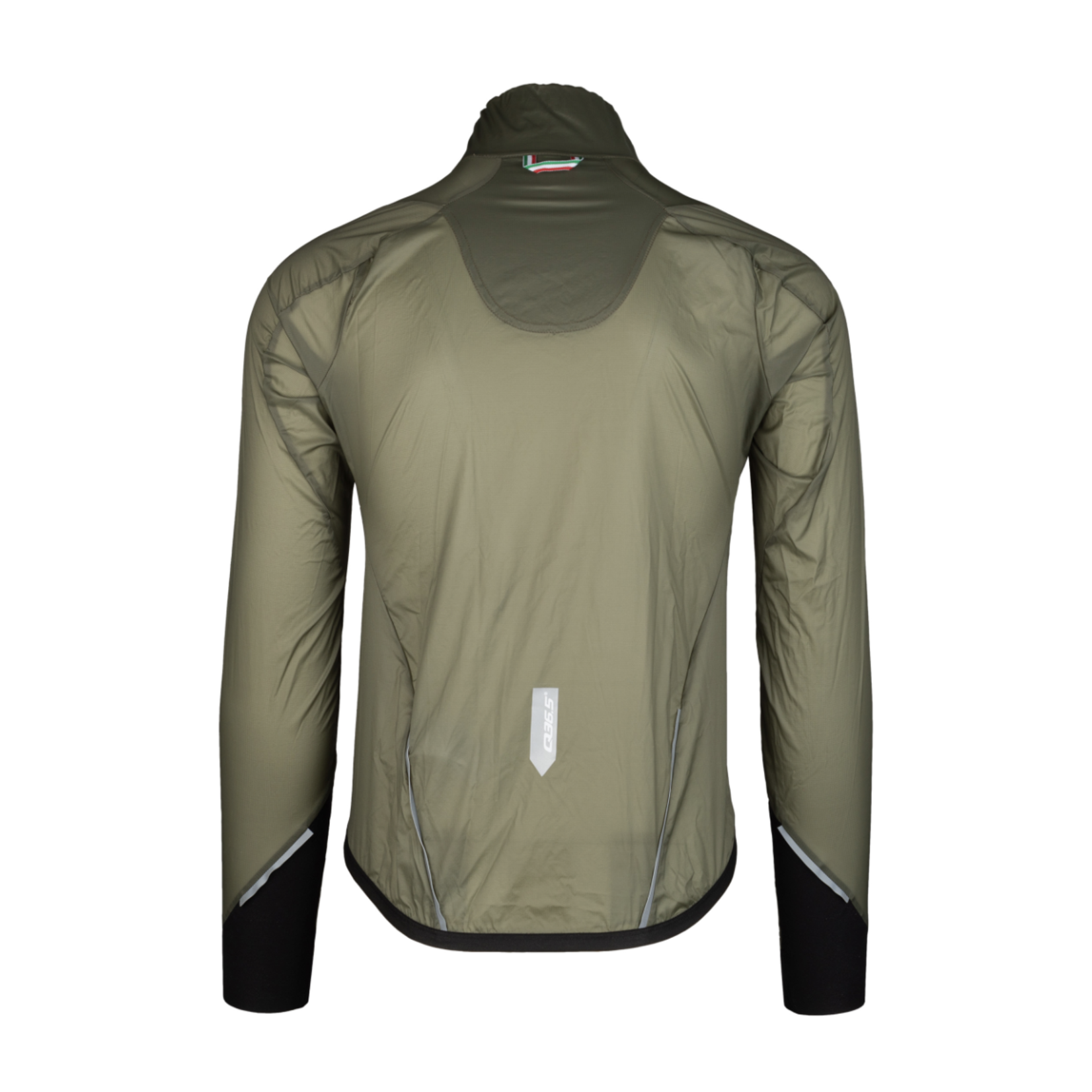 Q36.5 Q36.5 Air Shell Wind-Jacket - Olive Green