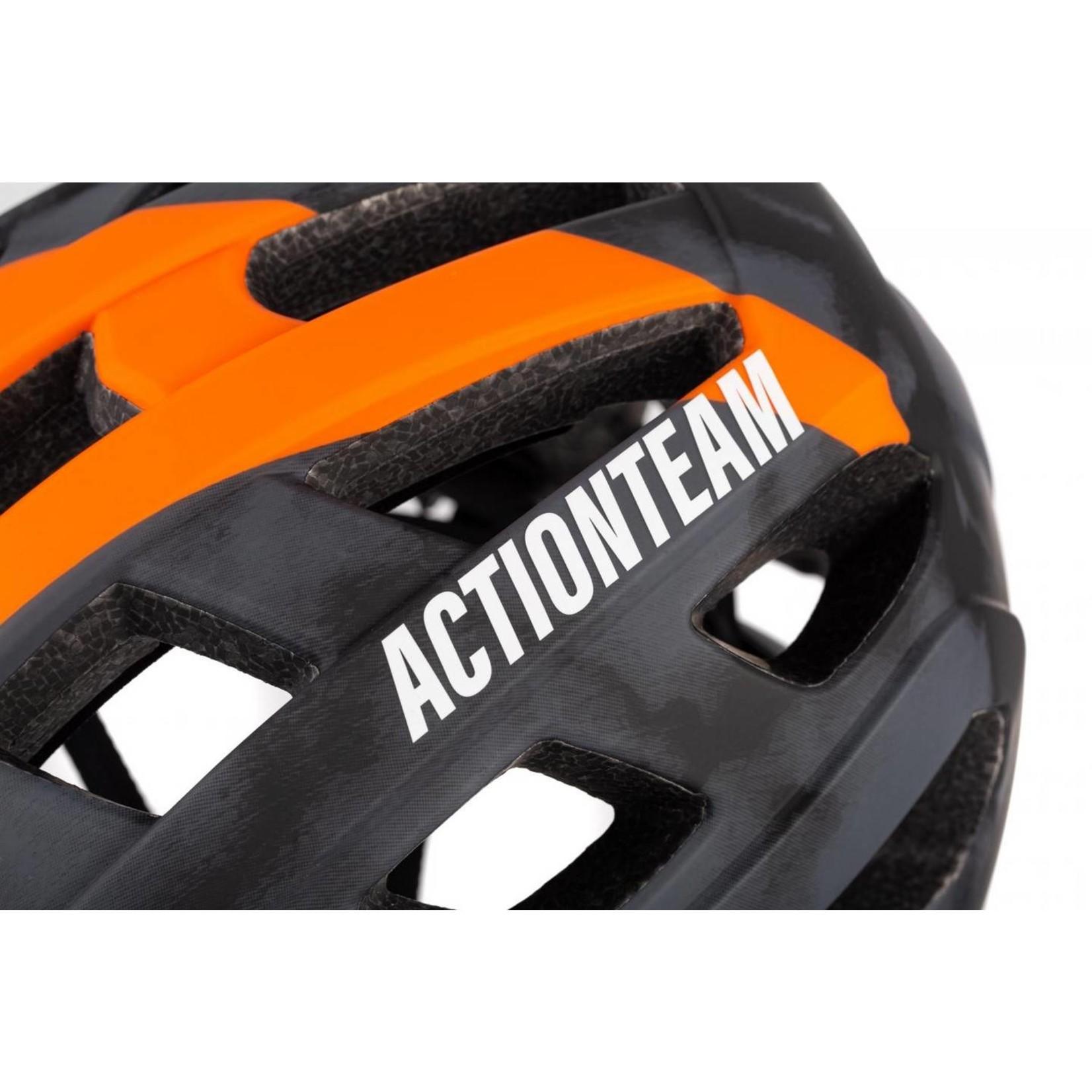 Cube CUBE Helmet BADGER - Grey n' Orange