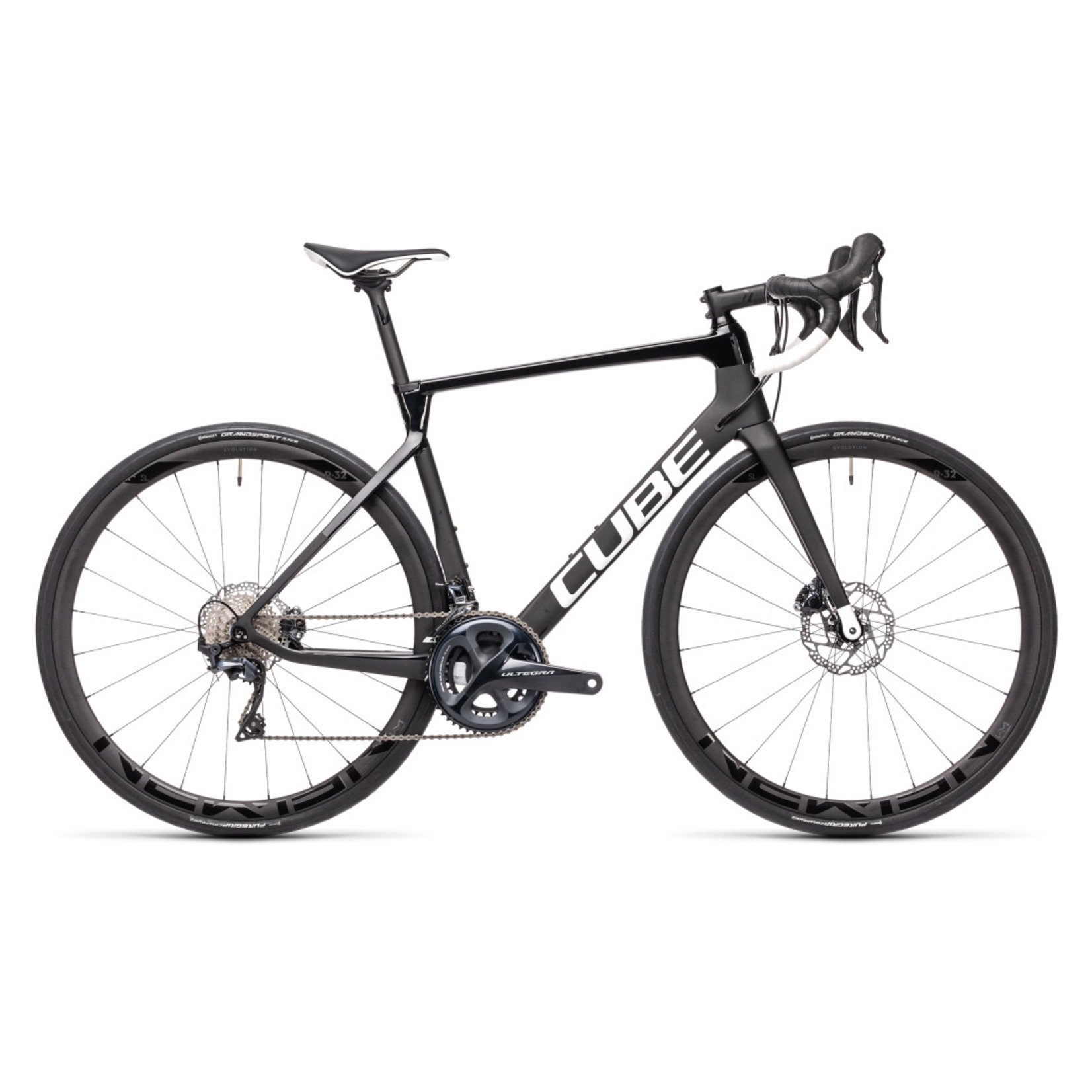 Cube Cube Agree C:62 Race - Carbon´n´White - 60