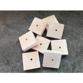 Gaaien-frutsels Balsa hout schijven 5x5