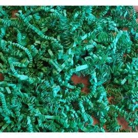 Gaaien-frutsels Papieren sliertjes donker groen