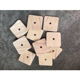 Vuren houten schijfjes 4x4