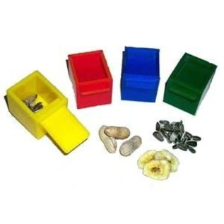 Zoo-Max 4 colore cubes