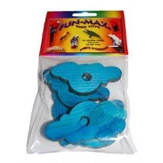Zoo-Max 6 st blauwe wolkjes