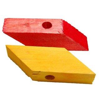 Zoo-Max 6st Wood Blocks Diamond