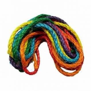 Zoo-Max 6st Sisal Rope Color 122x0.6