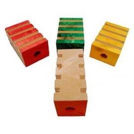 """Zoo-Max 4 Groovy Blocks 3"""" x 2"""""""