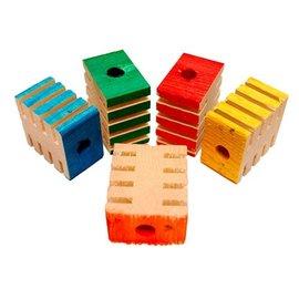 Zoo-Max 12st Groovy Blocks 4.4 x 3.8 x 2.5 cm