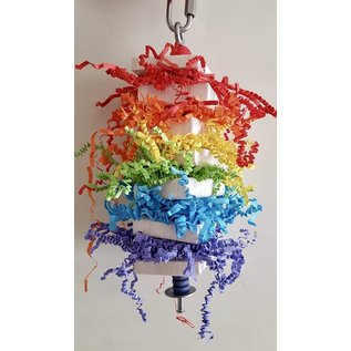 Gaaien-frutsels Rainbow Balsa Spies