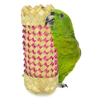 Back Zoo Nature Back Zoo Nature Woven Foraging Cylinder Large