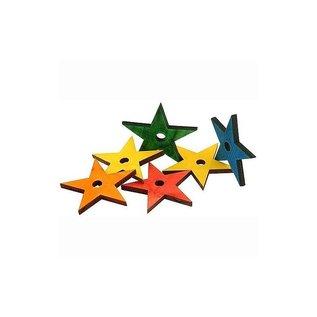 Zoo-Max 6st houten sterren medium
